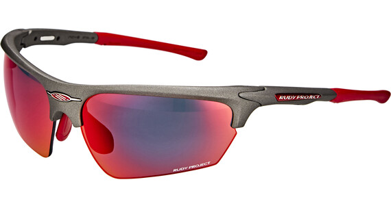 Rudy Project Noyz Glasses Graphite/Multilaser Red
